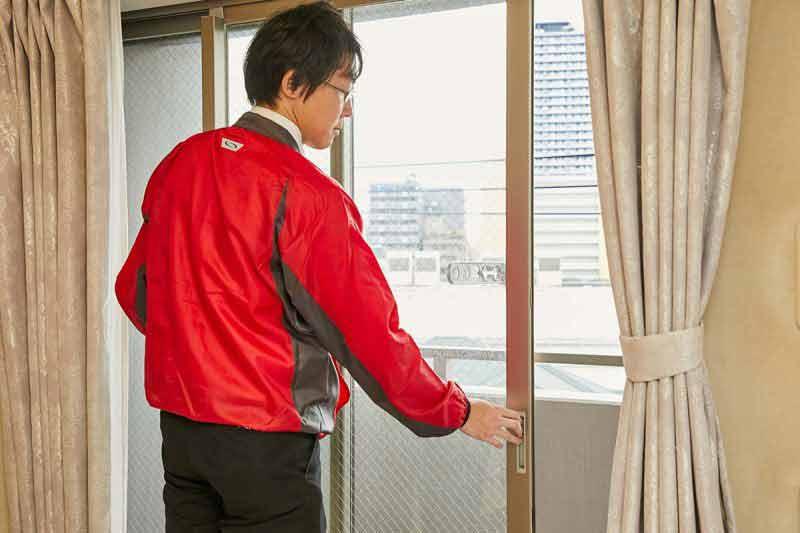 空き家の管理サービス マンションプラン 全室換気