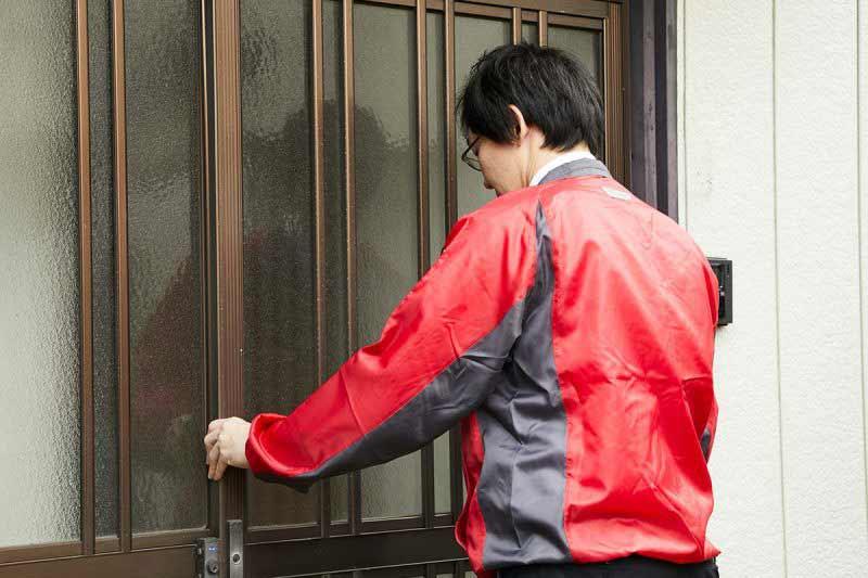 空き家の管理サービス 一戸建て 防犯確認
