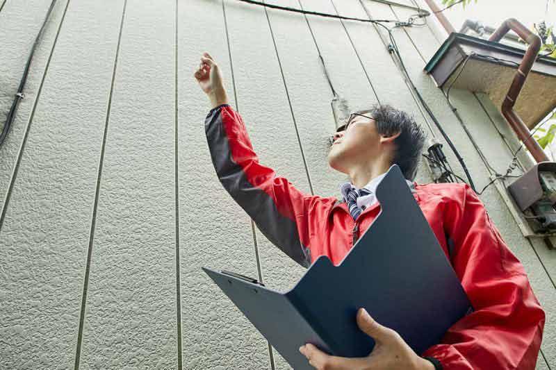 空き家の管理サービス 一戸建て 建物外部目視点検