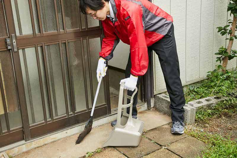 空き家の管理サービス 一戸建て 簡易清掃及び雑草除去