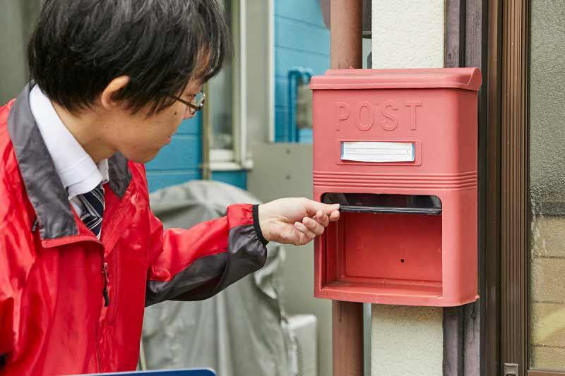 空き家の管理サービス 一戸建て 郵便受け確認