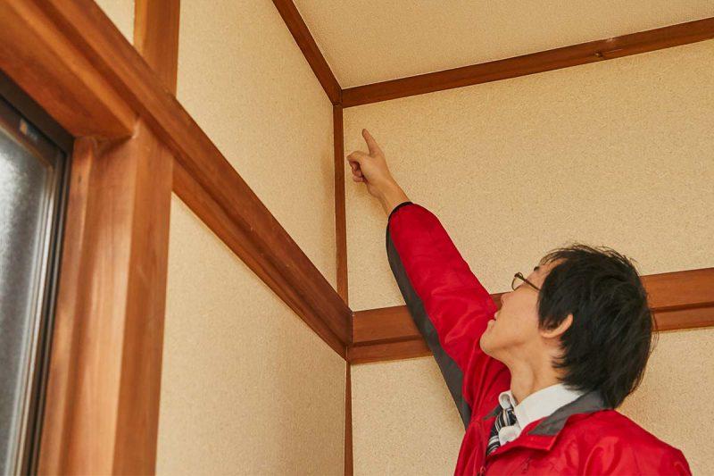 空き家の管理サービス 一戸建て 雨漏り・カビ確認